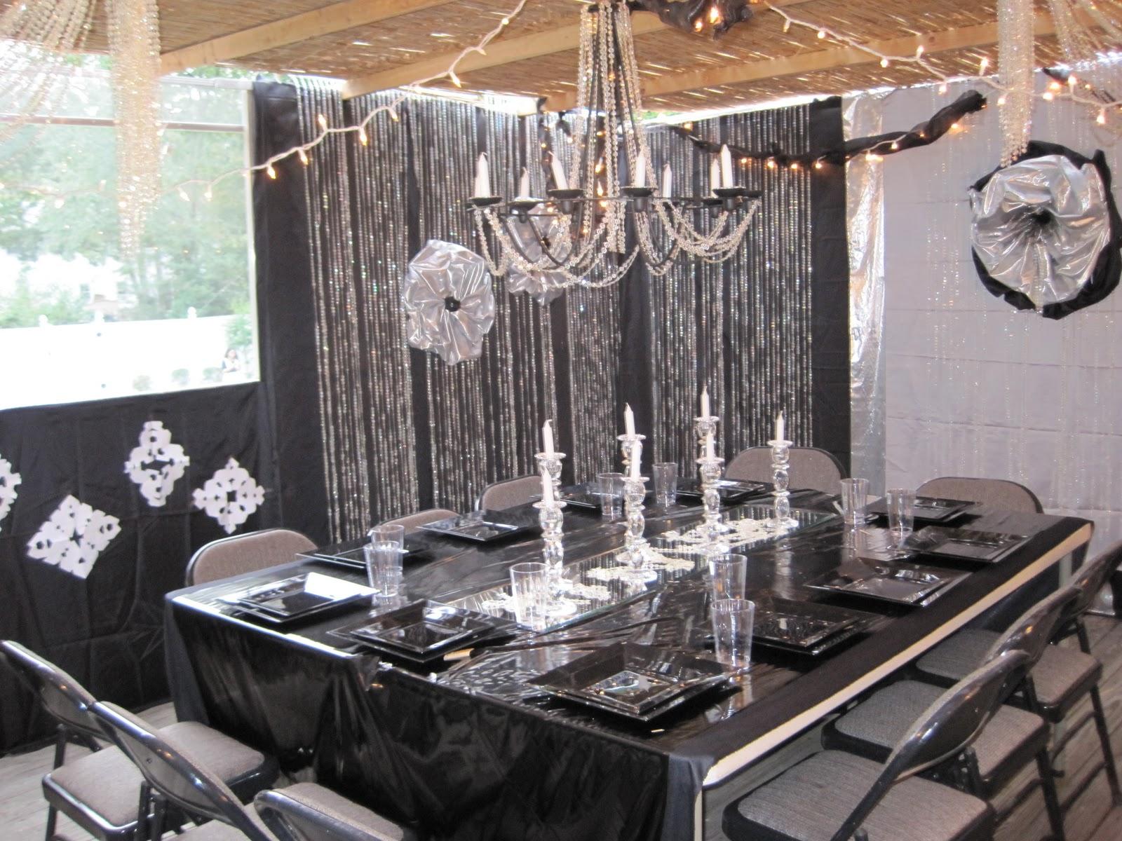 black and silver party decorations party favors ideas rh partyfavorsideas blogspot com