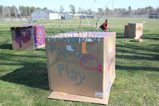 Pop Up Adventure Playground in Lakeville, Massachusetts, USA