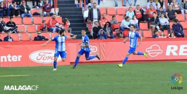 El Málaga saca tres puntos importantes de Tarragona (0-1)