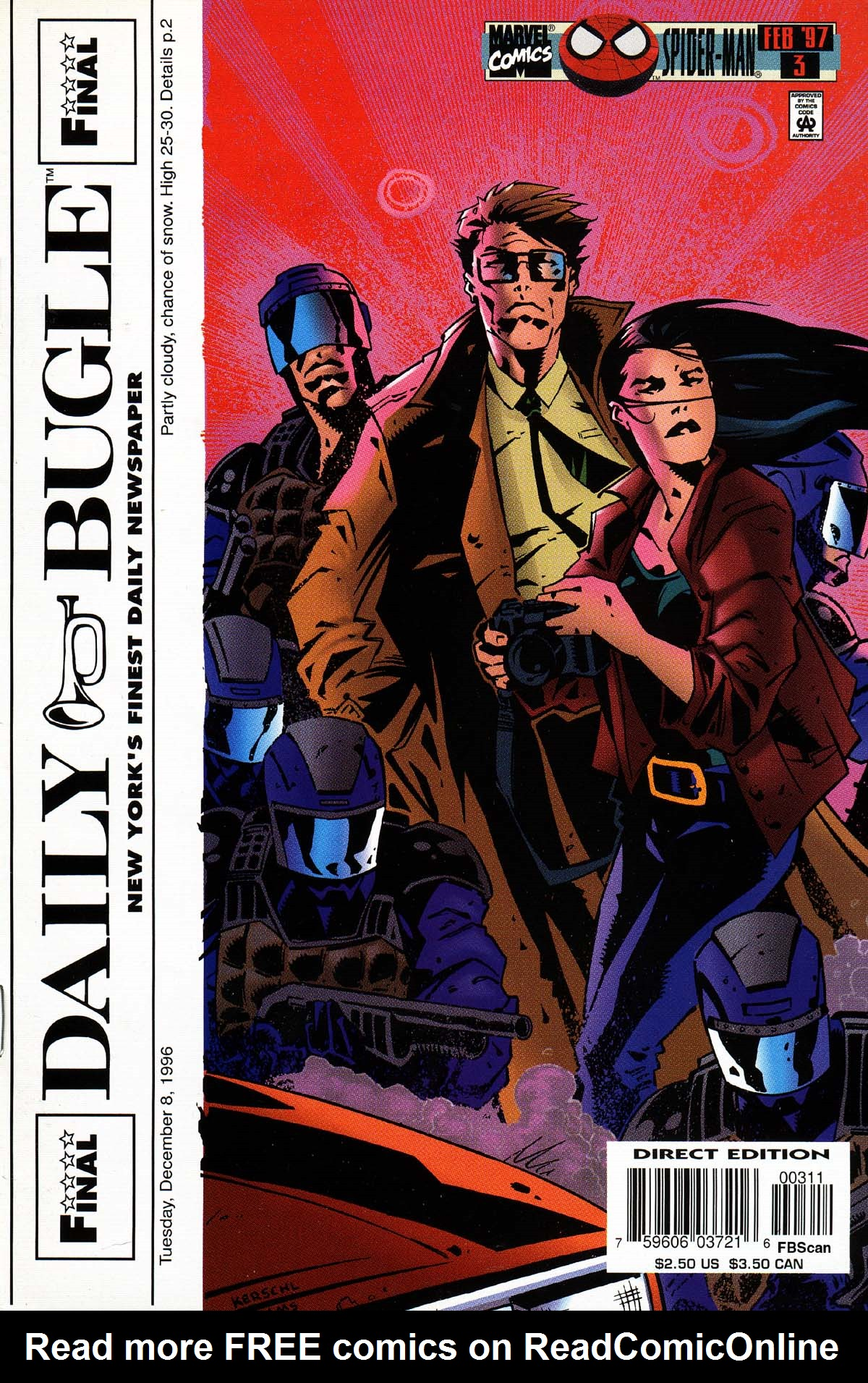 Read online Daily Bugle (1996) comic -  Issue #3 - 1