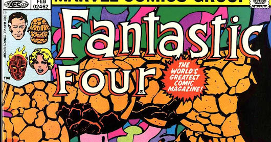 Marvel Comics of the 1980s: 1983: Fantastic Fouryage part I: Into the Negative Zone