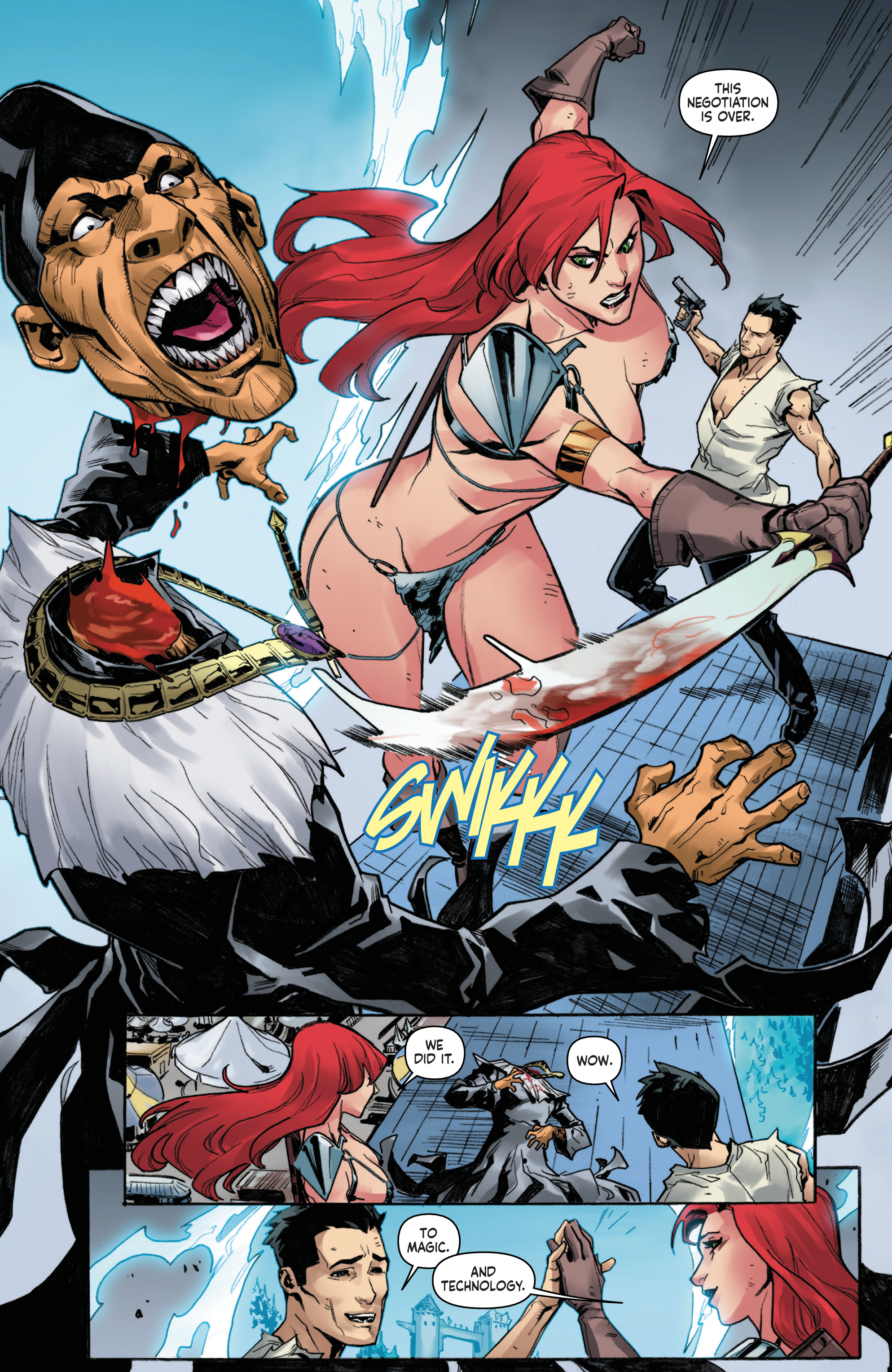 Read online Red Sonja Vol. 4 comic -  Issue #6 - 22