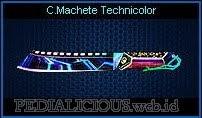 Combat Machete Technicolor