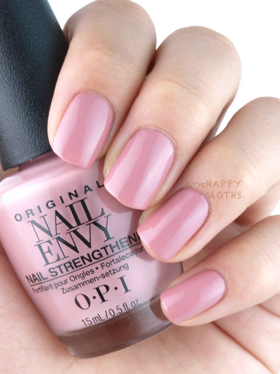 New Opi Nail Envy Nail Strengthener Strength Color Review And Swatches The Happy Sloths