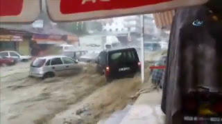 Ankara hit by flood