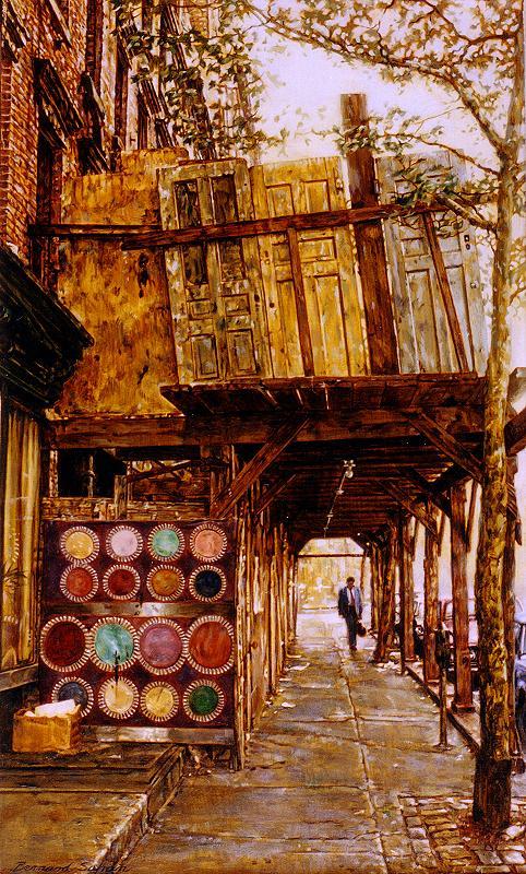 Gorgeous Paintings By Bernard Safran