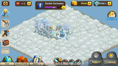 Zombie Castaways Mod Apk Terbaru Free on Android