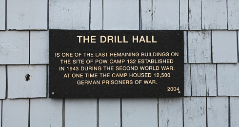 drill hall pow camp 132 medicine hat alberta