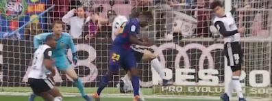 برشلونة بدون هزيمة خلال 39 مباراة متتالية