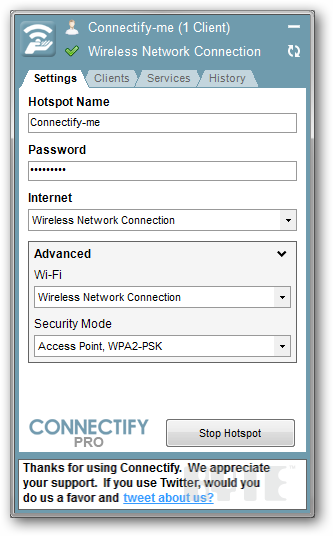 connectify hotspot pro crack free