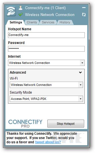 connectify hotspot pro crack free