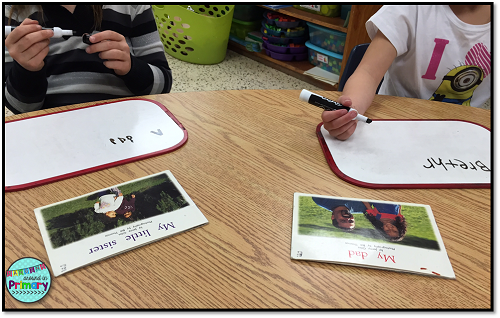 whiteboards for guided reading