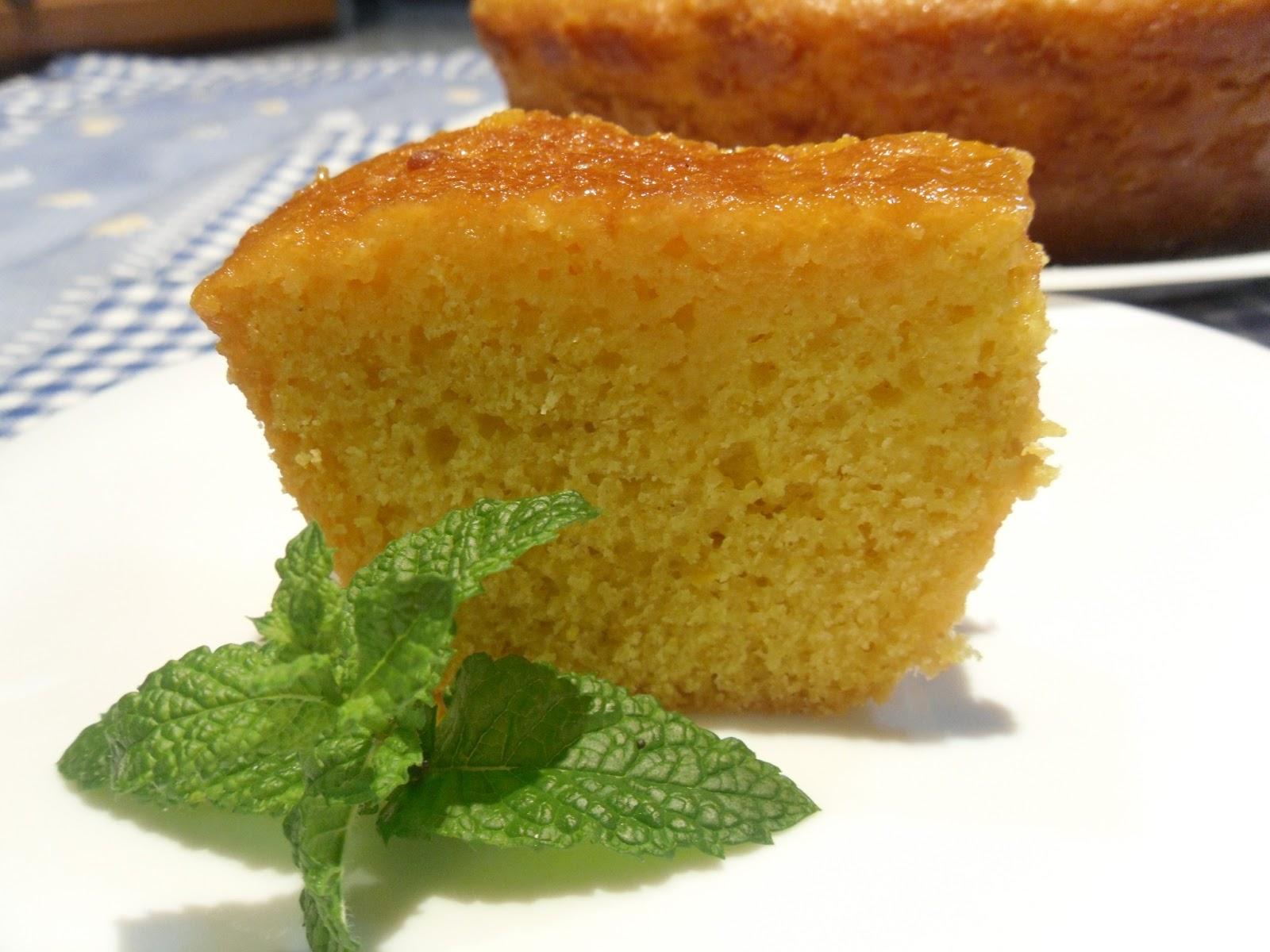 Receita de bolo fácil de laranja