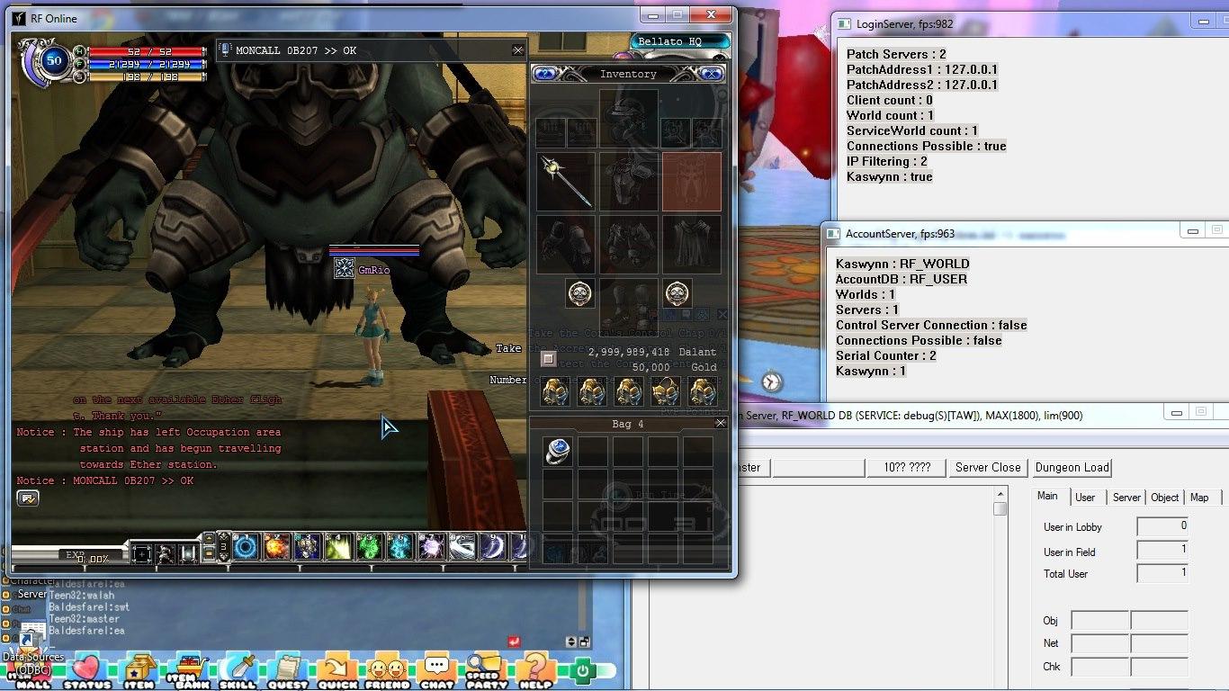 Rf offline giga 4 ep. 2 tutorial 2 menginstal server rf offline.