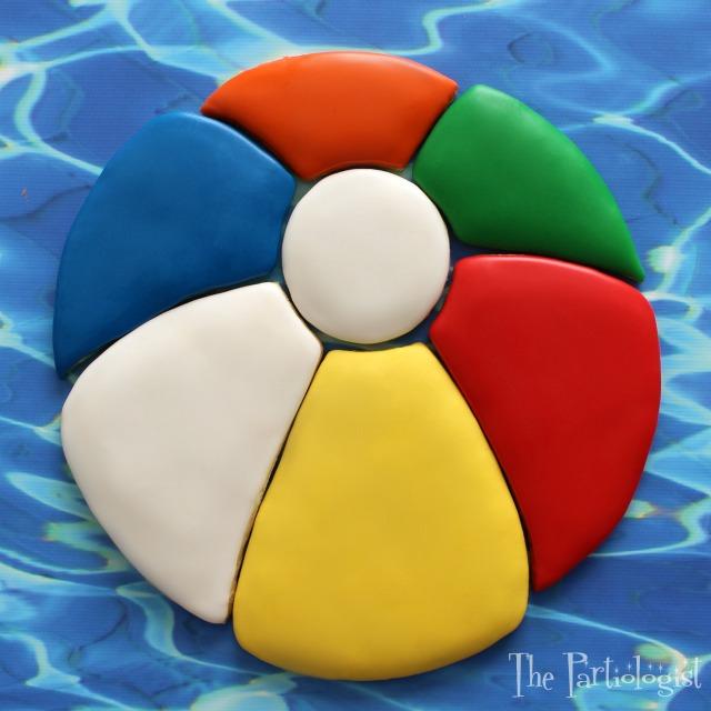 The Partiologist: Beach Ball Cookie Platter!
