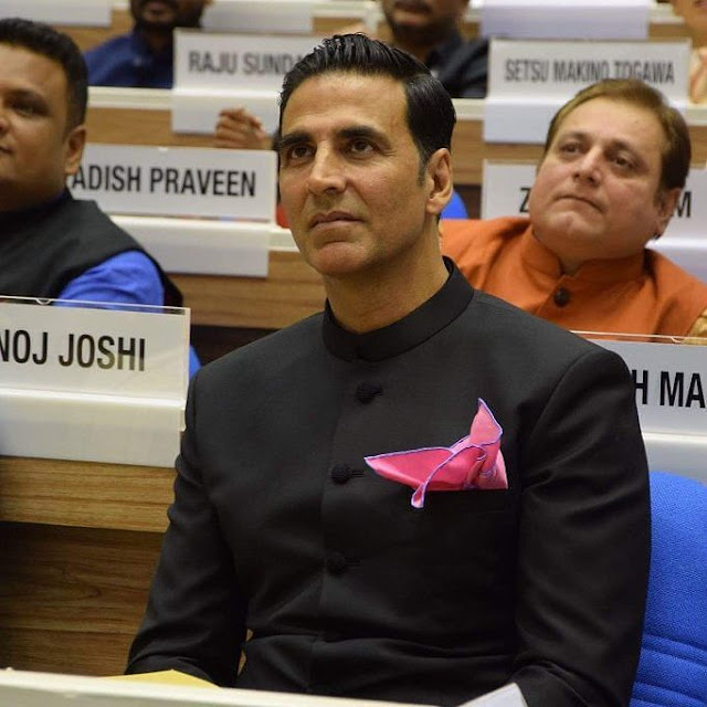 Akshay Kumar at National Film Awards