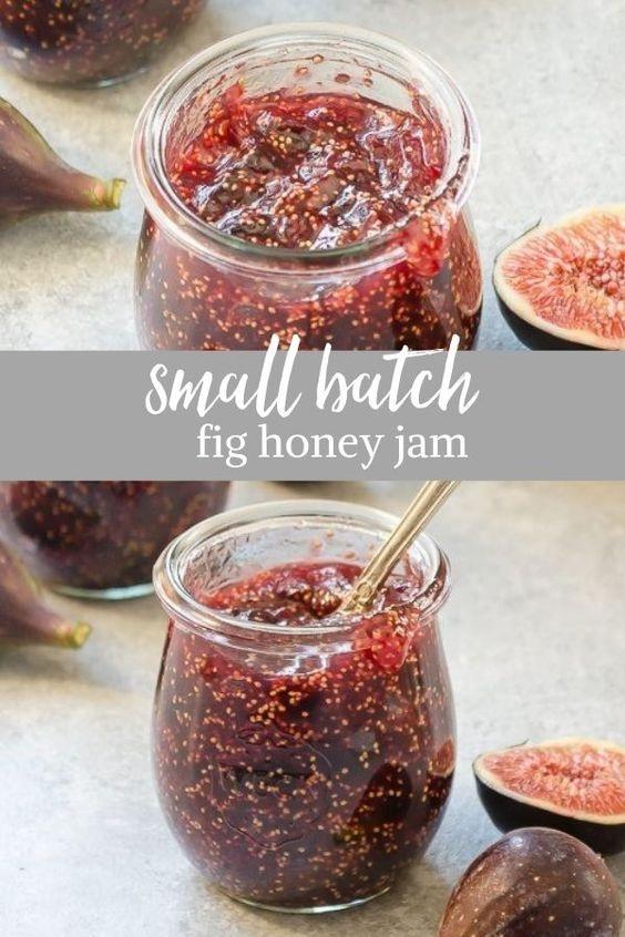 Small-Batch Fig Honey Jam