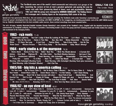 The Yardbirds – The Yardbirds Story By Giorgio Gomelsky