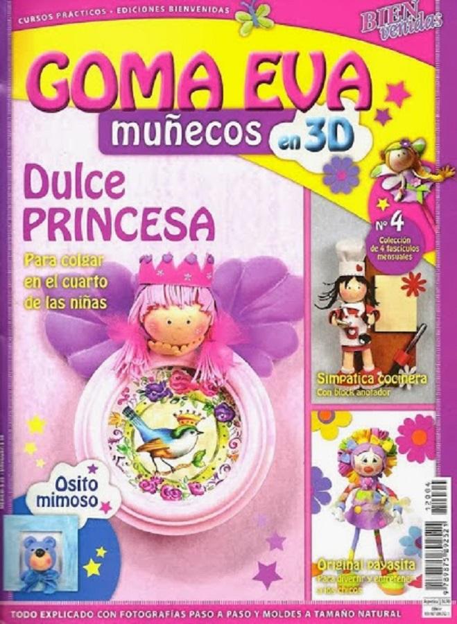 Muñecos 3d En Goma Eva