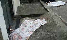 Pai e filho são assassinados no Carmary, Nova Iguaçu (RJ)
