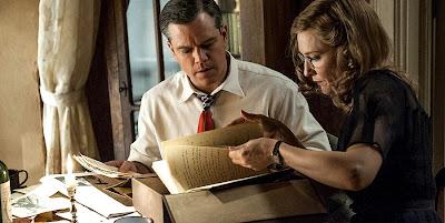 The Monuments Men - Cate Blanchett si Matt Damon