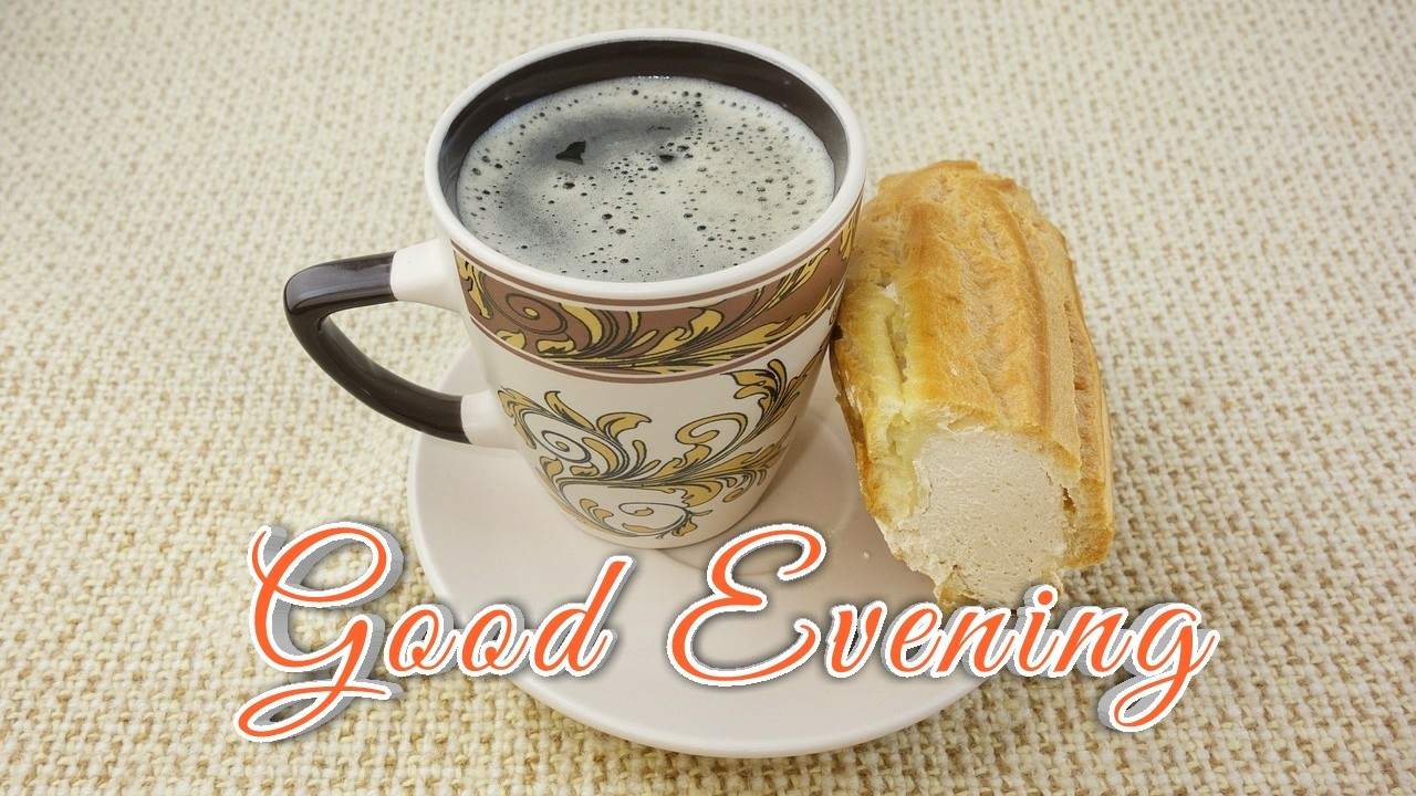 black tea & bunn wallpaper with good evening wishes