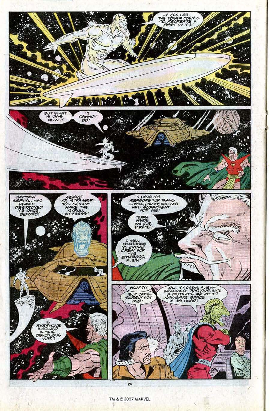 Read online Silver Surfer (1987) comic -  Issue #27 - 26