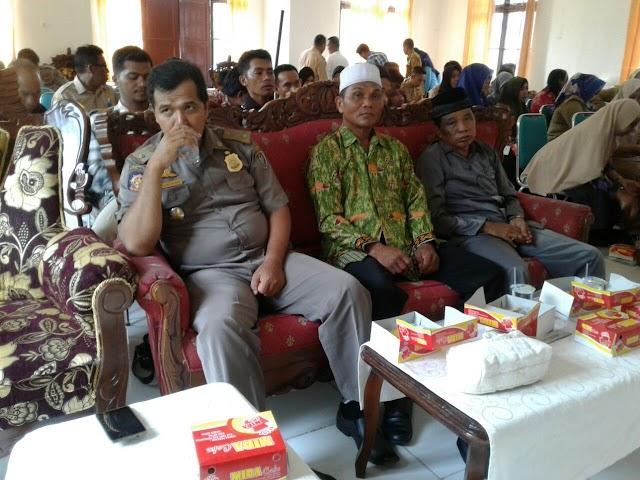 Ketua DPD Seruyan menghadiri acara Pembinaan Ormas dan LSM