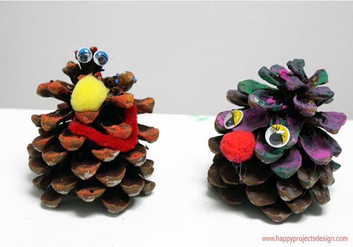 5 ecocrafs navideñas: piñas
