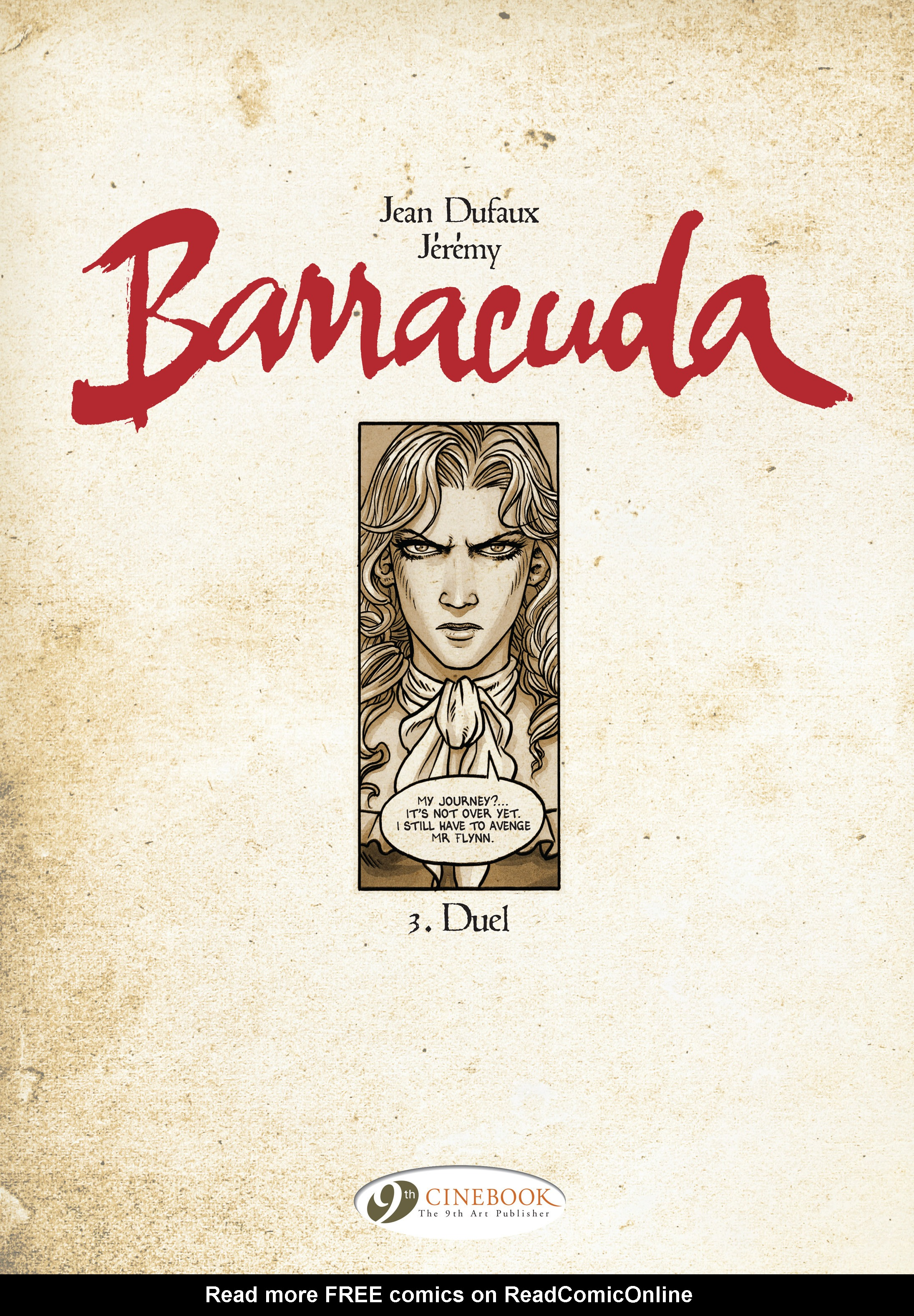 Read online Barracuda comic -  Issue #3 - 2