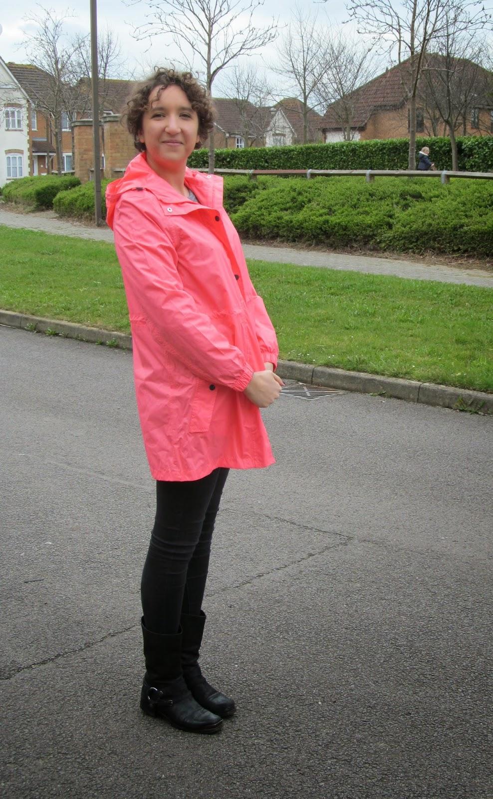neon pink waterproof