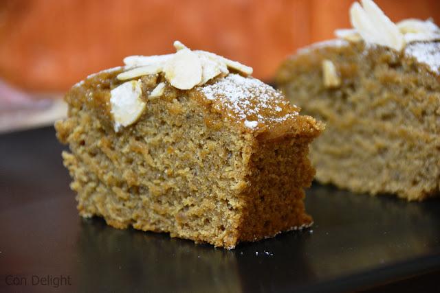 פרוסת עוגת דבש honey cake slice