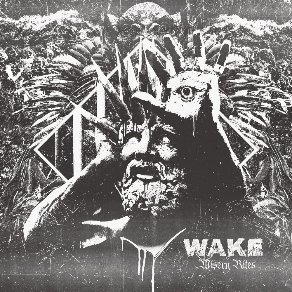 Dead Air At The Pulpit: Wake - Misery Rites (2018)