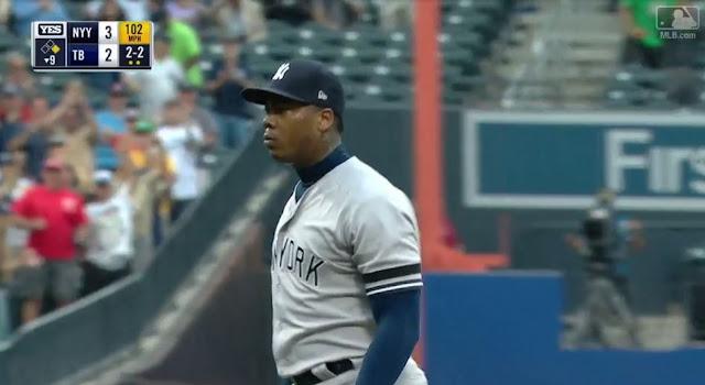 El lanzador cubano saboreó el fracaso como nunca antes, pero se sobrepuso a la difícil situación con los Yankees y al final fue vital en la carrera de los neoyorquinos hasta alcanzar la postemporada