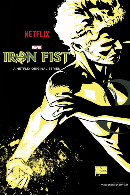 New York Comic Con 2016 Exclusive Marvel's Iron Fist Concept Art Teaser Television Poster by Joe Quesada