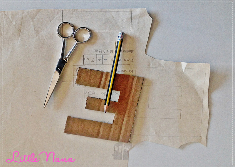 diy letras decorativas carton