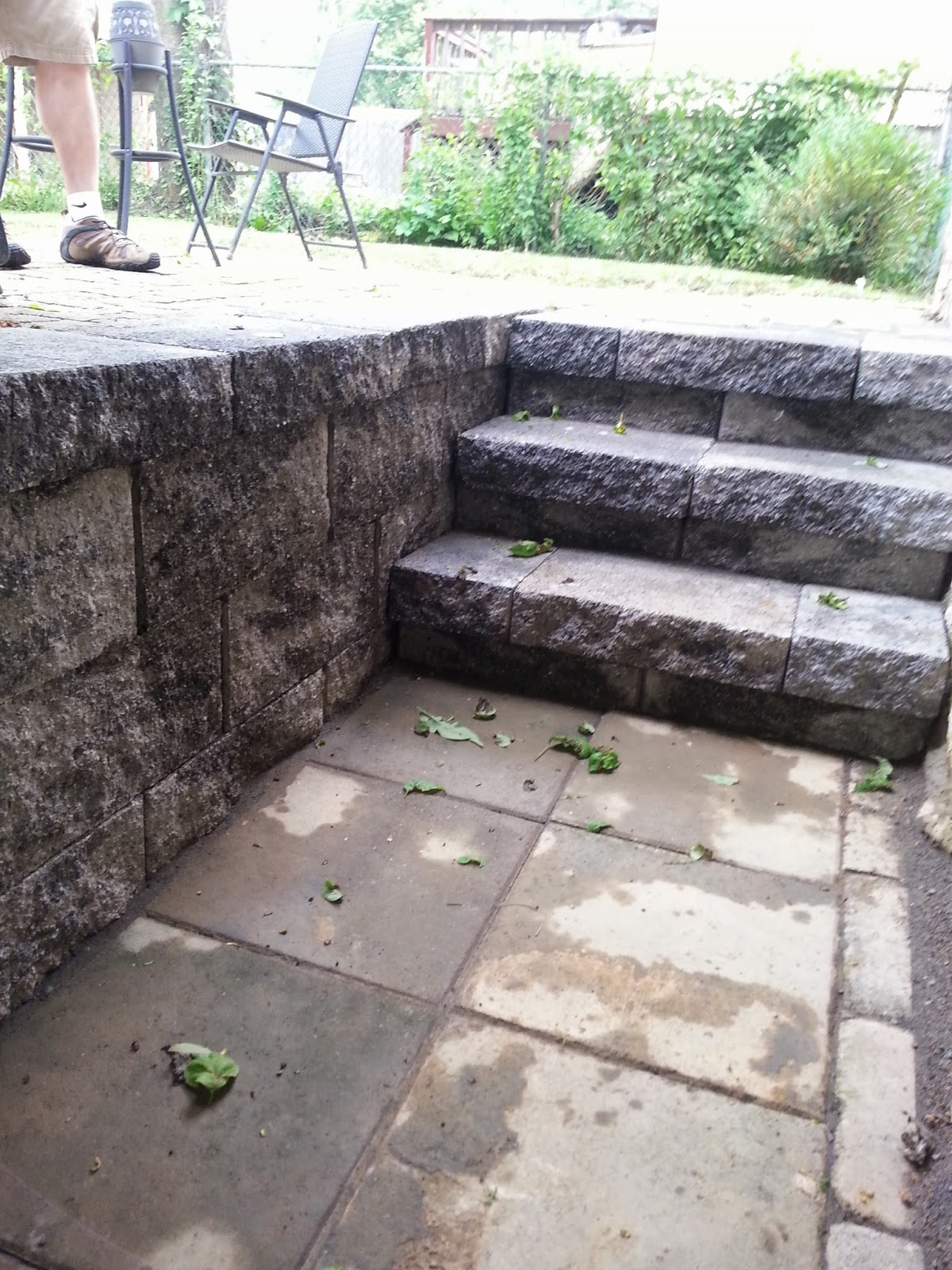 Custom Stoneworks & Design Inc.: New Basement Steps And