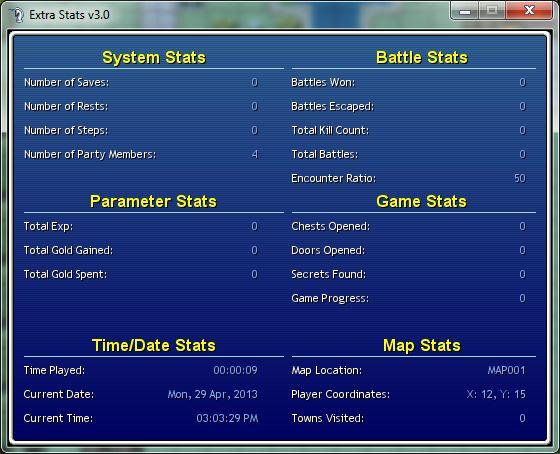 Extra Stats Script VX v3 0 – RPG Maker Times