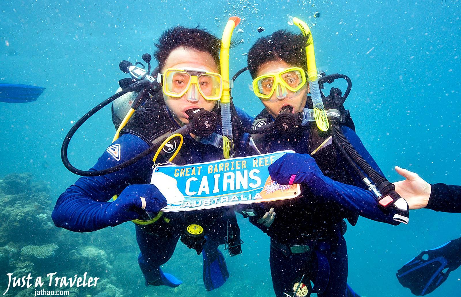 凱恩斯-大堡礁-外堡礁-推薦-公司-行程-旅遊-潛水-浮潛-自由行-澳洲-Cairns-Outer-Great-Barrier-Reef-Snorkel-Diving-Travel-Australia