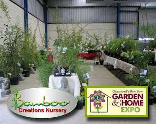 Bamboo creations victoria nursery going to Gippsland Baw Baw Garden and Home Expo