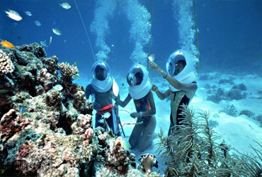 Bali Water Sports Tour | Bali Ocean Walker | Sunia Bali Tour
