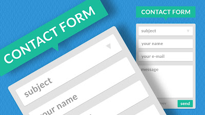 Cara Membuat Contact Form di Blog