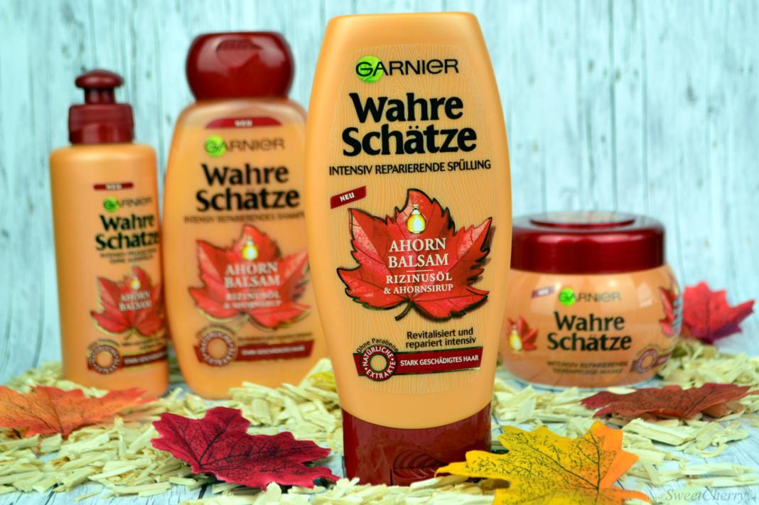 Garnier Wahre Schätze Ahorn Balsam Intensiv reparierende Spülung