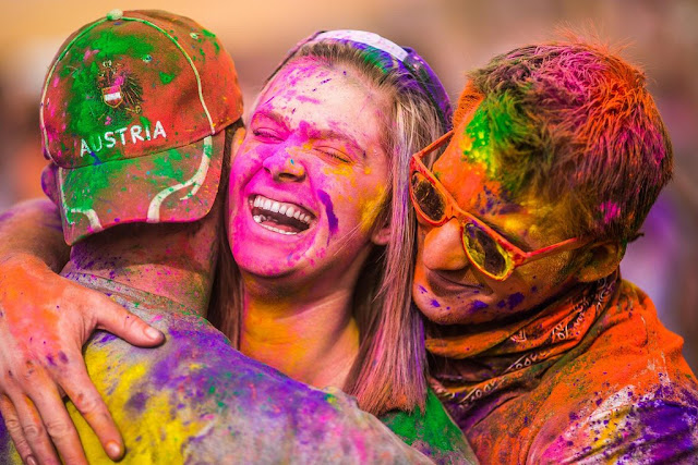 Romantics Happy Holi Images