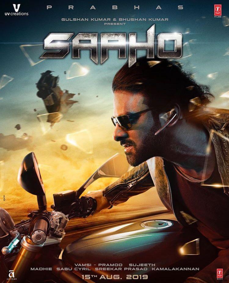 Saaho 2019 Hindi Movie 720p DVDScr 1.2GB