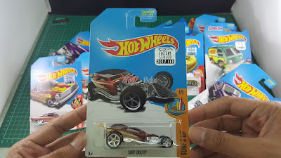 Hot Wheels Super Treasure Hunt Surf Crate