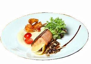 Resep Salmon Tamarind Potato