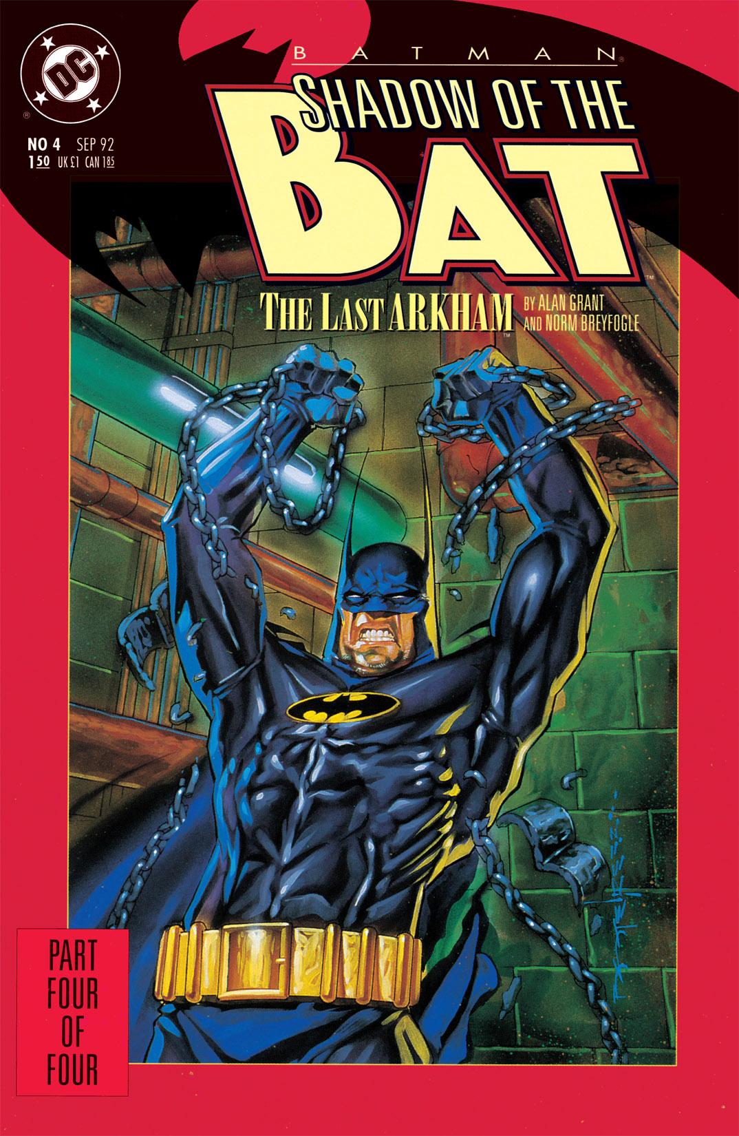 Batman: Shadow of the Bat 4 Page 1
