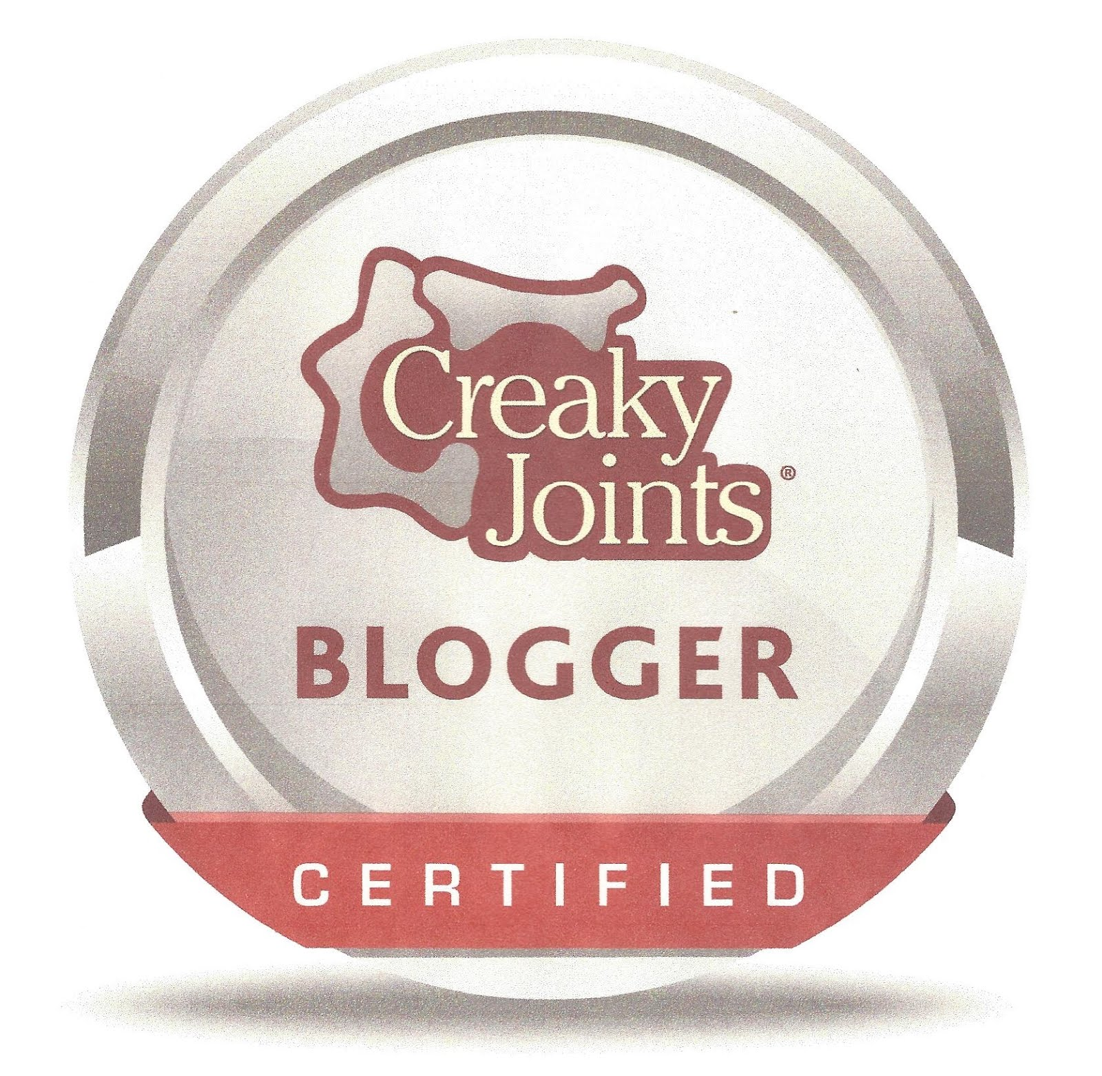Certified Creaky Joints Blogger