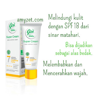 gizi super cream kosmetik indonesia
